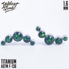 Накрутка-кластер 5 Опалов Emerald