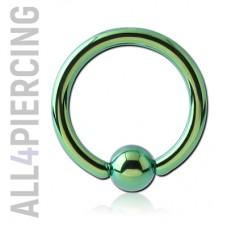 Кольцо с шариком